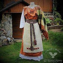 Šaty - Keltské historické šaty, doba železná - 9674112_