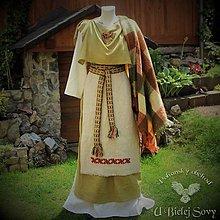 Šaty - Keltské historické šaty, doba železná - 9674124_