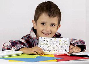 Na mobil - Kožené puzdierko ako darček od detí :) - 9673011_