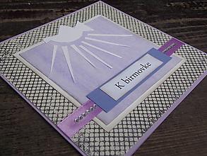 Papiernictvo - ...pohľadnica k birmovke... - 9672634_