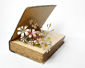 Dekorácie - Zakvitnuté myšlienky - dekorácia - 9673087_