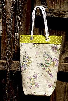 Nákupné tašky - taštička motýle - stop igelitkám - 9676061_