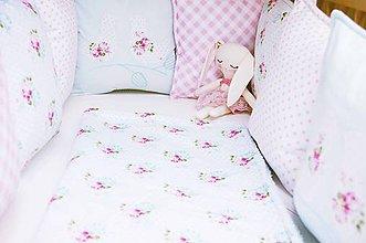 Textil - Set do detskej postieľky + darček. - 9676471_