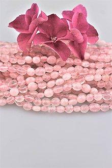 Minerály - ruženín korálky - nugety 5-9mm, cena za 10ks! - 9675621_