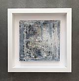 Obrázky - betónový obraz FISHERMANS BLUE - 9676088_