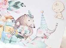 Papiernictvo - Zápisník pre bábätko / dievčatko - 9675650_