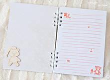 Papiernictvo - Zápisník pre bábätko / dievčatko - 9675652_