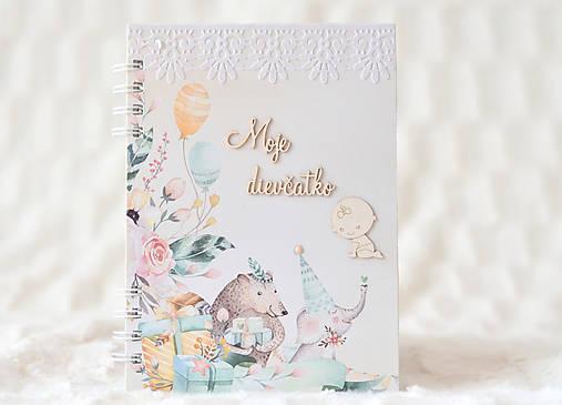 Zápisník pre bábätko / dievčatko