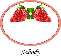 Papiernictvo - Etikety na jahody alebo džem - 9676708_
