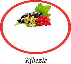 Papiernictvo - Etikety na ríbezle alebo džem - 9676732_