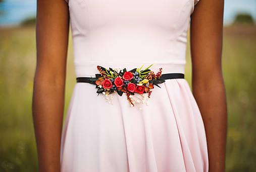 """Kvetinový opasok z kolekcie """"krása ženy"""""""