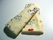 Detské doplnky - slintáčiky na nosič - 9677451_
