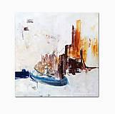 Obrazy - abstraktný obraz, Town, 70x70 (na objednávku) - 9675886_