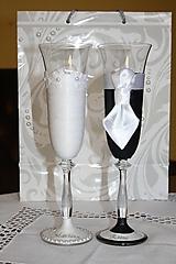 Nádoby - Svadobné poháre - Sen - 9680241_