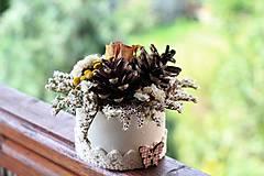Dekorácie - Kvetinový box - 9678446_