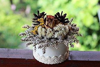 Dekorácie - Kvetinový box - 9678443_