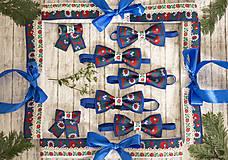Doplnky - Folk motýlik modrý - 9679177_
