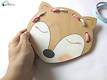 Hračky - Líška MAXI - hračka na jemnú motoriku - 9680298_