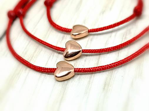 91dbe7a8eb82f Mini srdiečko (hematit, ružové zlato) / MK-ozdoby - SAShE.sk ...