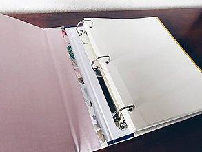 Papiernictvo - Fotoalbum  (samolepiaci 100 strán A4 (strany sa dajú dopĺňať)) - 9679199_