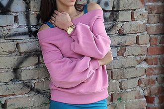Mikiny - Mikina s odhalenými ramenami - 9678757_