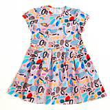 Šaty - Šaty - crazy pastels pink - 9678722_