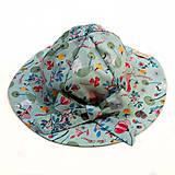 Čiapky - Detský klobúk celebrate mint - 9678778_