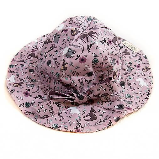 4c94ff76a Detský klobúk pink forest (1) / MoonriseFashion - SAShE.sk ...