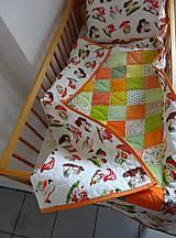 Detské súpravy - Detská súprava - Deka a vankúš - 9678935_