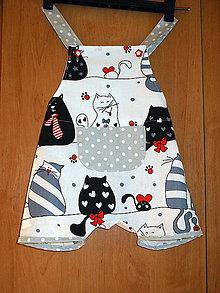 Detské oblečenie - kraťasky skladom - 9678523_
