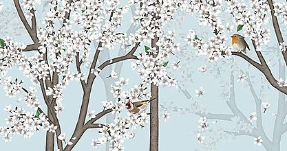 Grafika - Vtáčí les - jar 2 - 9679888_