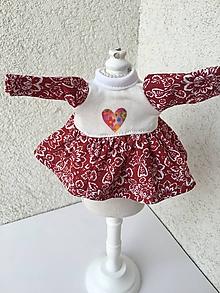 Hračky - Šatočky pre bábiky- 25-27 cm - 9678922_