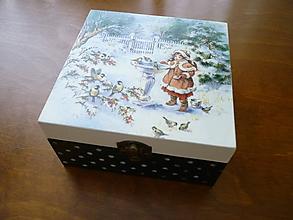 Krabičky - * krabička na čaj * - 9679080_