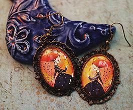 Náušnice - Bumpkinovej šperk/ Klára - 9681916_