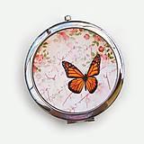 Zrkadielka - Zrkadielko Motýľ - 9682211_