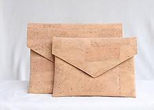 - Korková listová kabelka natural - 9681153_