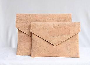 Kabelky - Korková listová kabelka natural - 9681153_