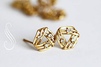 Komponenty - puzeta GoldTriangle/1 pár - 9682516_