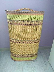 Košíky - Kos na pradlo pre princeznu - 9680755_