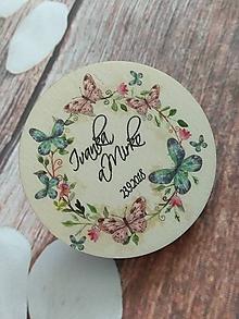 Darčeky pre svadobčanov - Magnetka 1 - 9680639_