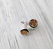 """Šperky - Manžetové gombíky - mini (""""Svarožič"""") - 9681398_"""