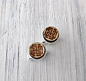 """Šperky - Manžetové gombíky - mini (""""Svarožič"""") - 9681399_"""