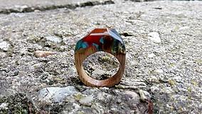 Prstene - Blauvermell prsteň - 9681519_
