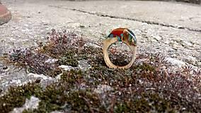 Prstene - Blauvermell prsteň - 9681520_