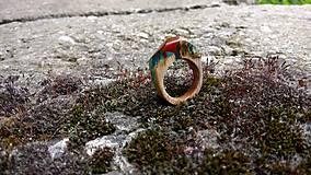 Prstene - Blauvermell prsteň - 9681521_