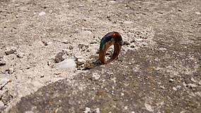 Prstene - Blauvermell prsteň - 9681526_