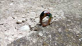 Prstene - Blauvermell prsteň - 9681527_