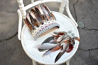 Sady šperkov - Bohémsky setík s bambulkami - 9681128_