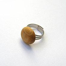 Prstene - Cédrový vypuklý - 9680968_