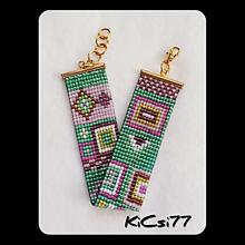 Náramok M7 s menom   KiCsi77 - SAShE.sk - Handmade Náramky 62bc986141f